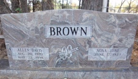 BROWN, ALLEN DAVIS - Red River County, Texas | ALLEN DAVIS BROWN - Texas Gravestone Photos