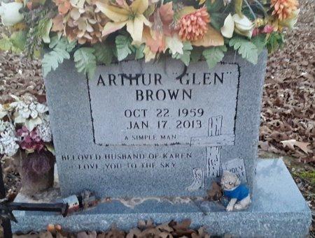 BROWN, ARTHUR GLEN - Red River County, Texas | ARTHUR GLEN BROWN - Texas Gravestone Photos