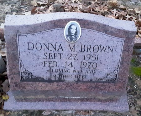BROWN, DONNA M - Red River County, Texas | DONNA M BROWN - Texas Gravestone Photos