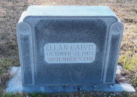 CALVIT, ELLAN - Red River County, Texas | ELLAN CALVIT - Texas Gravestone Photos