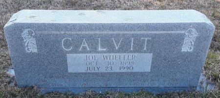 CALVIT, JOE WHEELER - Red River County, Texas   JOE WHEELER CALVIT - Texas Gravestone Photos