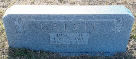 CALVIT, JOSEPH H - Red River County, Texas | JOSEPH H CALVIT - Texas Gravestone Photos