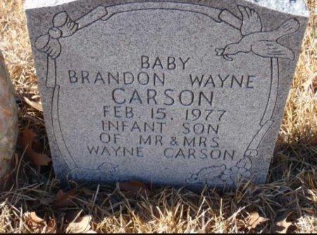CARSON, BRANDON WAYNE - Red River County, Texas   BRANDON WAYNE CARSON - Texas Gravestone Photos