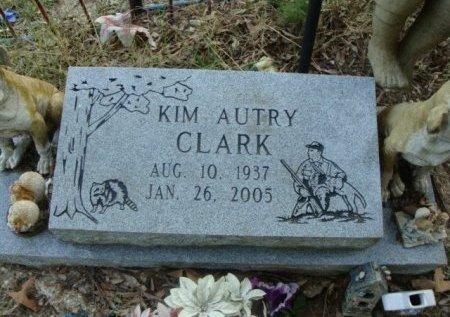 CLARK, KIM AUTRY (CLOSEUP) - Red River County, Texas   KIM AUTRY (CLOSEUP) CLARK - Texas Gravestone Photos