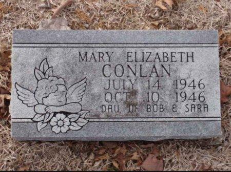 CONLAN, MARY ELIZABETH - Red River County, Texas   MARY ELIZABETH CONLAN - Texas Gravestone Photos