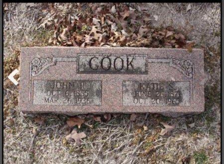 COOK, JOHN R - Red River County, Texas   JOHN R COOK - Texas Gravestone Photos