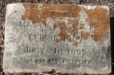 CORLEY, MATTIE B - Red River County, Texas   MATTIE B CORLEY - Texas Gravestone Photos