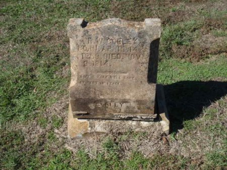 CORLEY, R W - Red River County, Texas   R W CORLEY - Texas Gravestone Photos