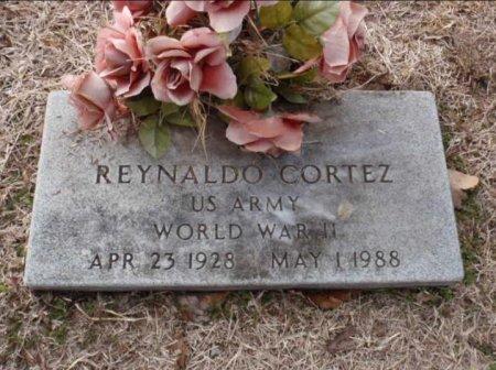 CORTEZ (VETERAN WWII), REYNALDO - Red River County, Texas   REYNALDO CORTEZ (VETERAN WWII) - Texas Gravestone Photos