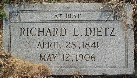 DIETZ, RICHARD L - Red River County, Texas | RICHARD L DIETZ - Texas Gravestone Photos