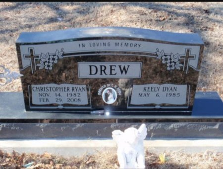 DREW, CHRISTOPHER RYAN - Red River County, Texas   CHRISTOPHER RYAN DREW - Texas Gravestone Photos