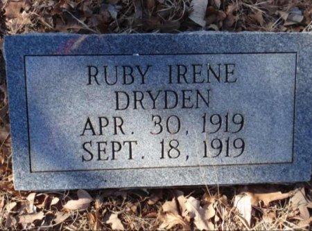 DRYDEN, RUBY IRENE - Red River County, Texas | RUBY IRENE DRYDEN - Texas Gravestone Photos