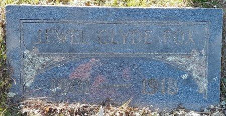 FOX, JEWEL CLYDE - Red River County, Texas | JEWEL CLYDE FOX - Texas Gravestone Photos