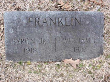 FRANKLIN, WILLIAM E - Red River County, Texas | WILLIAM E FRANKLIN - Texas Gravestone Photos