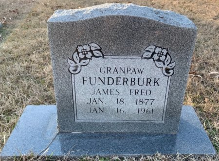 FUNDERBURK, GRANPAW - Red River County, Texas | GRANPAW FUNDERBURK - Texas Gravestone Photos