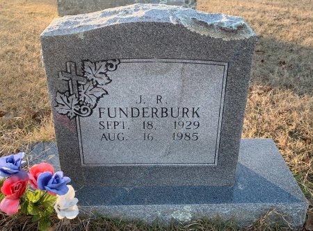 FUNDERBURK, J R - Red River County, Texas | J R FUNDERBURK - Texas Gravestone Photos