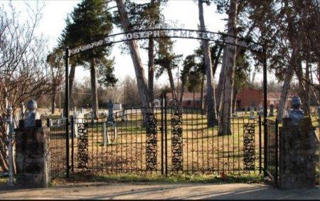 *GATE & ENTRANCE,  - Red River County, Texas |  *GATE & ENTRANCE - Texas Gravestone Photos
