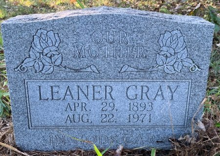 GRAY, LEANER - Red River County, Texas | LEANER GRAY - Texas Gravestone Photos