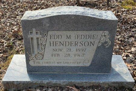 HENDERSON, EDD M  (EDDIE) - Red River County, Texas | EDD M  (EDDIE) HENDERSON - Texas Gravestone Photos