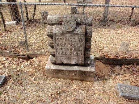 HENDERSON, GEORGE W - Red River County, Texas   GEORGE W HENDERSON - Texas Gravestone Photos