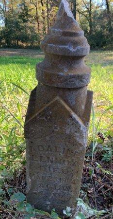 LENNOX, ADALINE - Red River County, Texas | ADALINE LENNOX - Texas Gravestone Photos