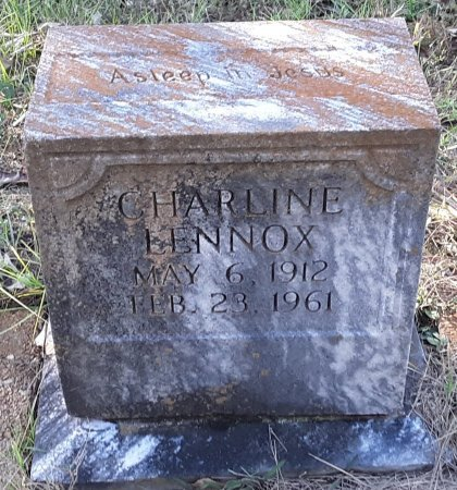 LENNOX, CHARLINE - Red River County, Texas | CHARLINE LENNOX - Texas Gravestone Photos