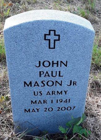 MASON, JR (VETERAN), JOHN PAUL - Red River County, Texas | JOHN PAUL MASON, JR (VETERAN) - Texas Gravestone Photos