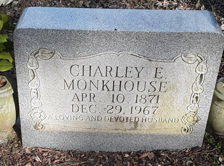 MONKHOUSE, CHARLEY E - Red River County, Texas | CHARLEY E MONKHOUSE - Texas Gravestone Photos