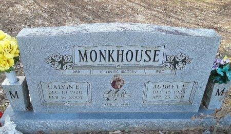 MONKHOUSE, CALVIN E - Red River County, Texas | CALVIN E MONKHOUSE - Texas Gravestone Photos