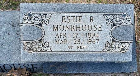 MONKHOUSE, ESTIE R (CLOSE UP) - Red River County, Texas   ESTIE R (CLOSE UP) MONKHOUSE - Texas Gravestone Photos
