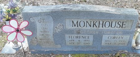 MONKHOUSE, CORLEY - Red River County, Texas | CORLEY MONKHOUSE - Texas Gravestone Photos