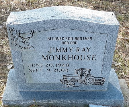 MONKHOUSE, JIMMY RAY - Red River County, Texas   JIMMY RAY MONKHOUSE - Texas Gravestone Photos