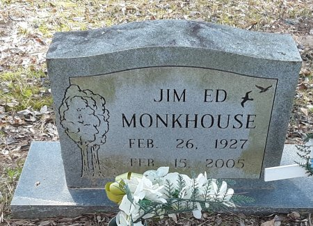 MONKHOUSE, JIM ED - Red River County, Texas | JIM ED MONKHOUSE - Texas Gravestone Photos