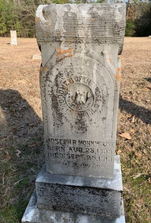 MONKHOUSE, JOSEPH R - Red River County, Texas   JOSEPH R MONKHOUSE - Texas Gravestone Photos