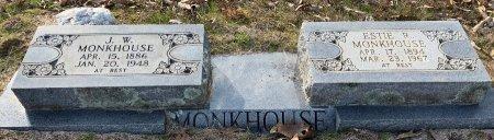 MONKHOUSE, ESTIE R - Red River County, Texas | ESTIE R MONKHOUSE - Texas Gravestone Photos
