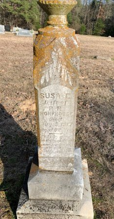 MONKHOUSE, SUSA E - Red River County, Texas   SUSA E MONKHOUSE - Texas Gravestone Photos