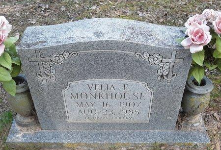MONKHOUSE, VELIA E - Red River County, Texas   VELIA E MONKHOUSE - Texas Gravestone Photos