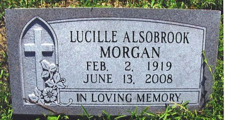 MORGAN, LUCILLE - Red River County, Texas | LUCILLE MORGAN - Texas Gravestone Photos