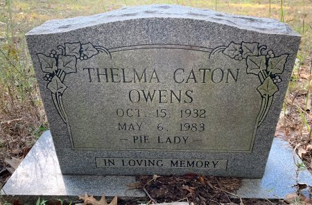 CATON OWENS, THELMA - Red River County, Texas | THELMA CATON OWENS - Texas Gravestone Photos