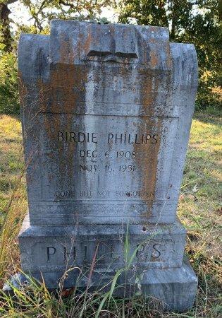 PHILIPS, BIRDIE - Red River County, Texas | BIRDIE PHILIPS - Texas Gravestone Photos