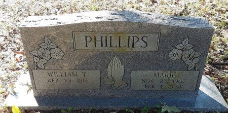 PHILLIPS, WILLIAM T - Red River County, Texas | WILLIAM T PHILLIPS - Texas Gravestone Photos