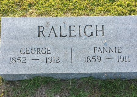 RALEIGH, GEORGE - Red River County, Texas | GEORGE RALEIGH - Texas Gravestone Photos