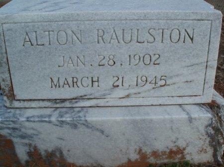RAULSTON, ALTON - Red River County, Texas   ALTON RAULSTON - Texas Gravestone Photos