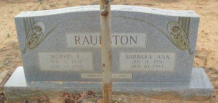 RAULSTON, BARBARA ANN - Red River County, Texas | BARBARA ANN RAULSTON - Texas Gravestone Photos