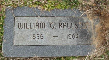 RAULSTON, WILLIAM G - Red River County, Texas   WILLIAM G RAULSTON - Texas Gravestone Photos