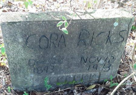 RICKS, CORA - Red River County, Texas | CORA RICKS - Texas Gravestone Photos