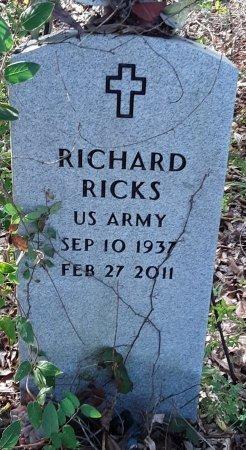 RICKS (VETERAN), RICHARD - Red River County, Texas | RICHARD RICKS (VETERAN) - Texas Gravestone Photos