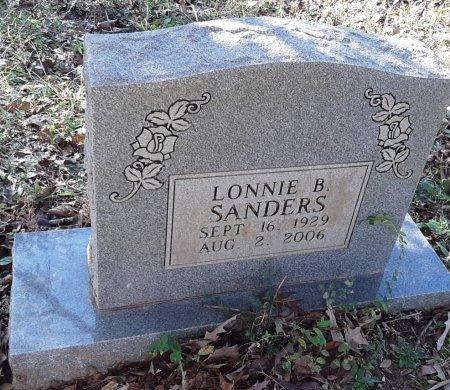 SANDERS, LONNIE B - Red River County, Texas | LONNIE B SANDERS - Texas Gravestone Photos