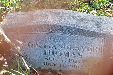THOMAS, OBELIA - Red River County, Texas | OBELIA THOMAS - Texas Gravestone Photos