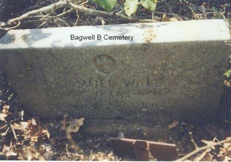 WALL (VETERAN), SAMUEL - Red River County, Texas   SAMUEL WALL (VETERAN) - Texas Gravestone Photos
